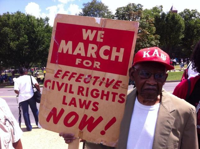 50 anni dopo la marcia su Washington