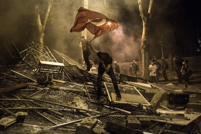Protests in Istanbul