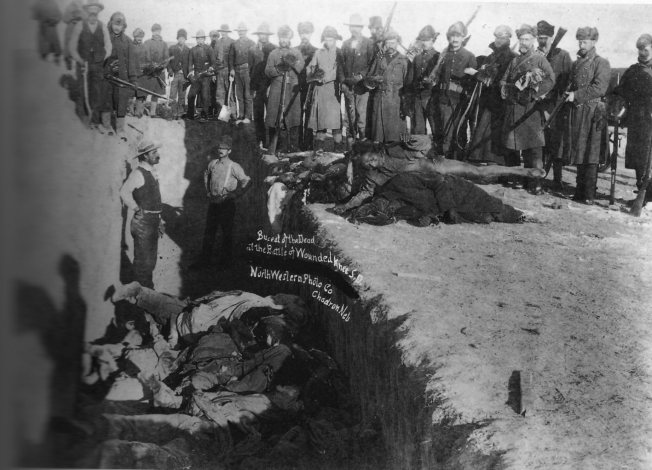 Il massacro di Wounded Knee