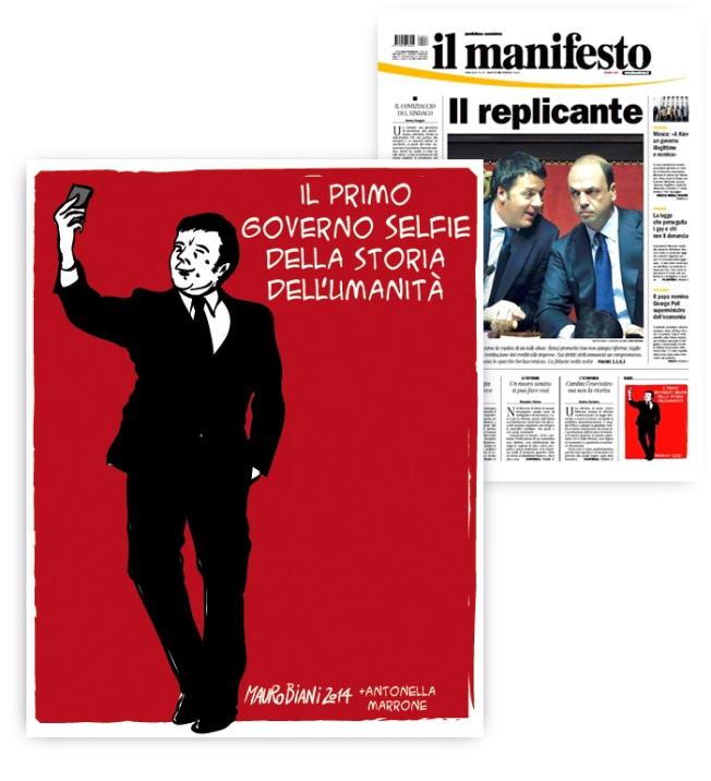 renzi-selfie-il-manifesto