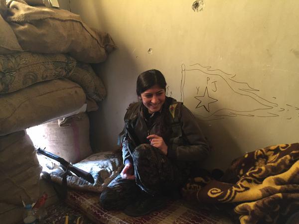 kobane fighter